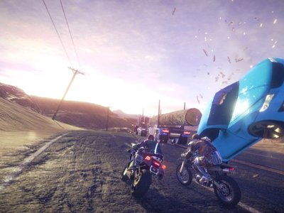 Road Redemption saldrá del Early Access de Steam en octubre y lo celebra con un tráiler a lo Road Rash