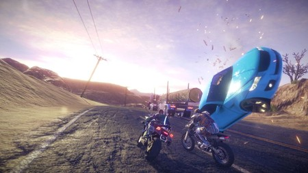 Road Redemption saldrá del Early Access de Steam en octubre y lo celebra con un tráiler a lo Road Rash