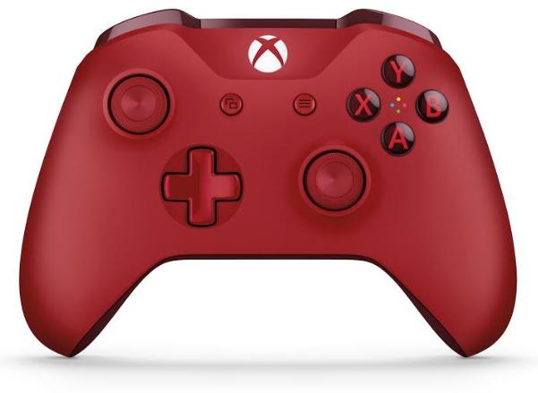 Xbox One S Mando Rojo
