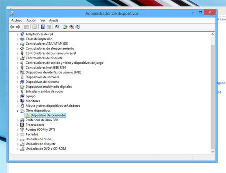 Instalar dispositivos desconocidos en Windows