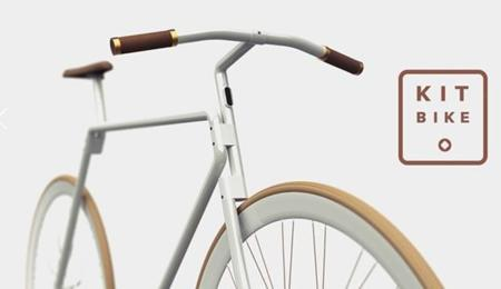 Kit Bike, la bici que te echas a las espaldas