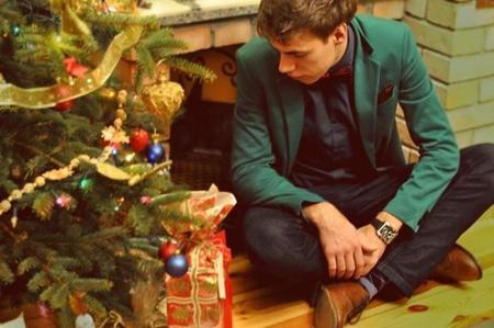 Moda de fiesta para él: Una Navidad con estilo