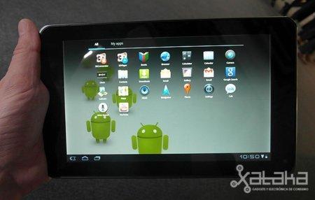 LG Optimus Pad. Lo probamos en el MWC 2011