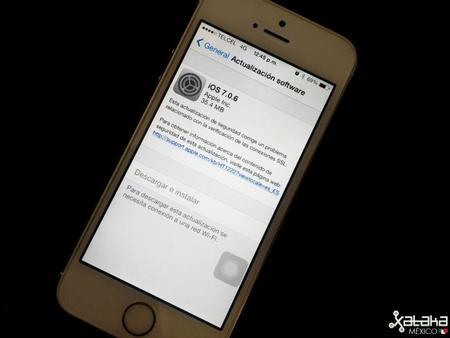 Apple lanza actualizaciones para iOS 6 y iOS 7