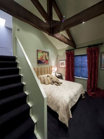 Dormitorio de Kate Moss
