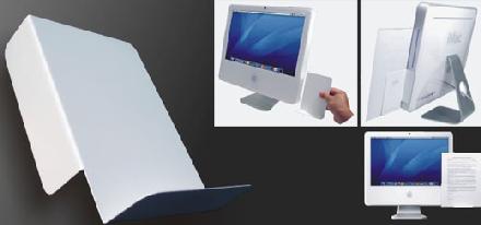 iLevl, atril magnético para el iMac