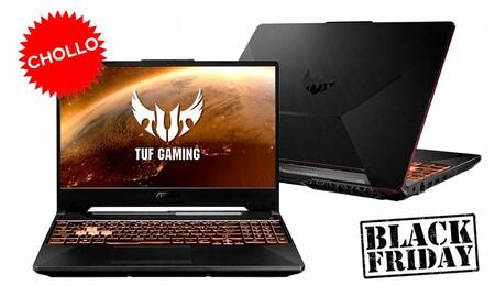 El ASUS TUF Gaming F15 FX506LH-BQ030 es un chollo para gamers: en el Black Friday de eBay lo tienes por 170 euros menos que en otras tiendas
