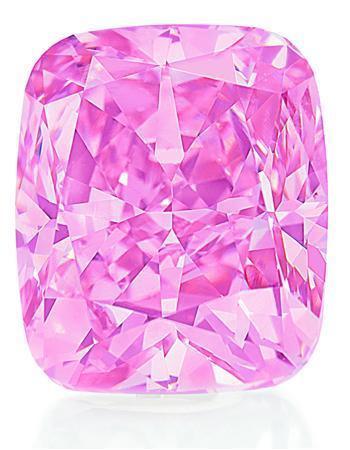 Diamante rosa montado por Graff podría batir nuevo record de subasta