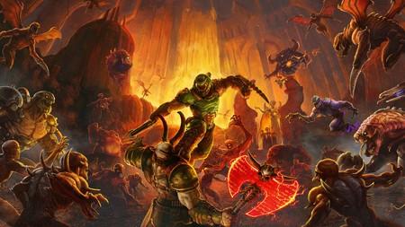 Doom Eternal hará las delicias de los nostálgicos añadiendo la perspectiva clásica con el arma en el centro