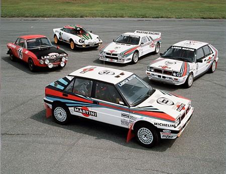 Lancia Delta HF Integrale, Stratos, 037 de rallyes