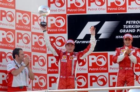 Ferrari, grandes favoritos para ganar en Turquía