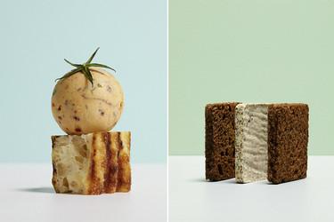 Un bello homenaje a la unión del pan y la mantequilla