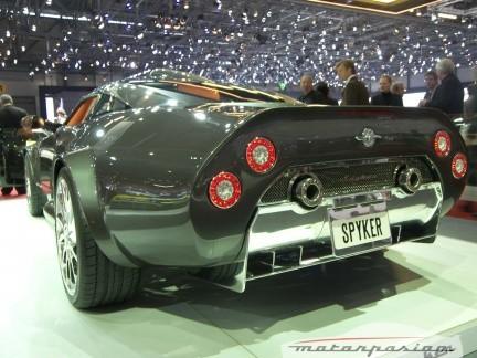 Spyker en el Salón de Ginebra: nuevo Spyker C8 Aileron y otros modelos
