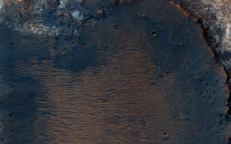 Mawrth Vallis Crater
