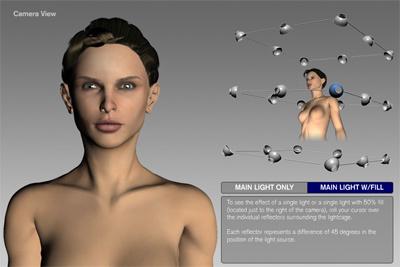 Light Cage, simulador de iluminación online