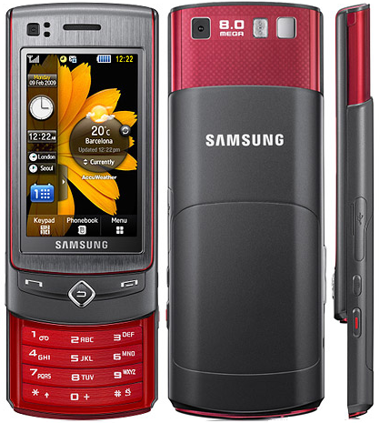 Samsung UltraTOUCH de 8 megapixel también con Vodafone