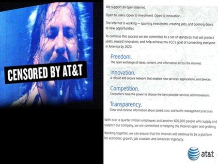 Save The Internet se mofa de la publicidad de AT&T que defiende un Internet abierto