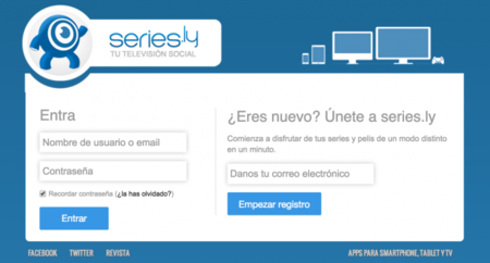 Series.ly confirma su retirada de enlaces convirtiéndose en una red social