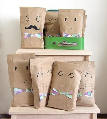 Recycled Brown Paper Party Bags11