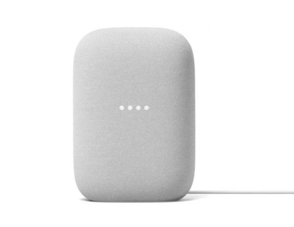 Google Nest Audio Smart Speaker (Chalk)