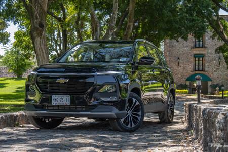 Chevrolet Captiva 2022 Primer Acercamiento Mexico Prueba Opiniones 36