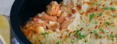 Estofado de pavo con puré de patatas gratinado: receta completa para combatir el frío