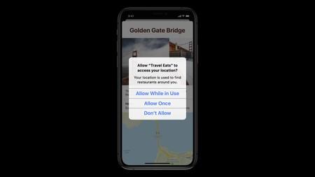Nuevo diálogo de permiso de localización en iOS 13