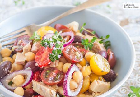Garbanzos Con Tomates Y Ventresca De Atun