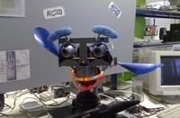 Diseñan a Sacarino, un robot recepcionista