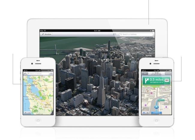 Así son los nuevos mapas en iOS 6