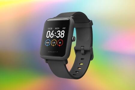 Solo hoy este smartwatch básico Amazfit con autonomía de un mes rozando los 30 euros en Amazon, ¡oferta flash!