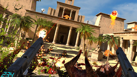 Serious Sam VR: The Last Hope ya está disponible a través de Steam Early Access