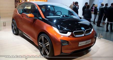 El BMW i3, con extensor de autonomía opcional desde su lanzamiento a finales de este año