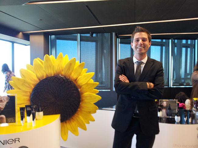 Antonio Selles jefe producto Garnier