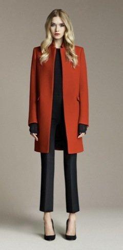 Zara Otoño 2010, rojo negro