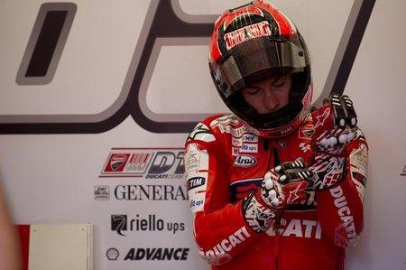 MotoGP Gran Bretaña 2010: Nicky Hayden inicia el ataque a Jorge Lorenzo