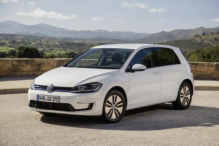 Volkswagen eGolf comparativa