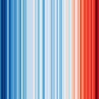 ¿Cuadros abstractos? No, gráficos que explican a la perfección el drama del calentamiento global