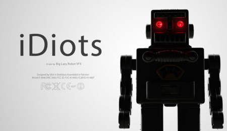iDiot: el estudo Big Lazy Robot nos da un tirón de orejas con mucho humor