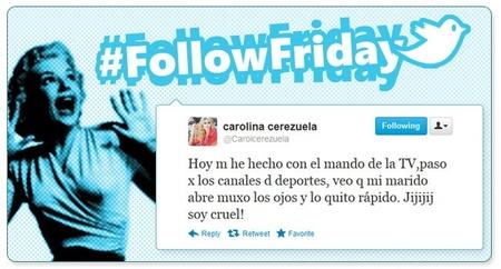 #FollowFriday: Los mejores twitpics de la semana (XVIII)
