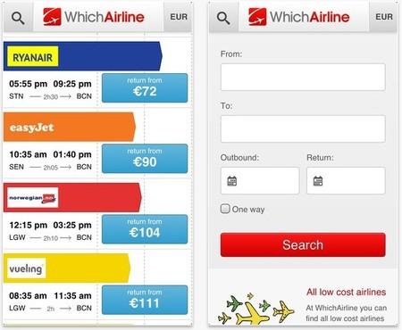 Aplicaciones viajeras: WhichAirline