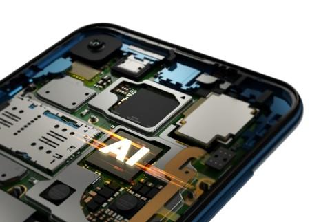Motorola One Vision Row Sapphire Gradient Processor