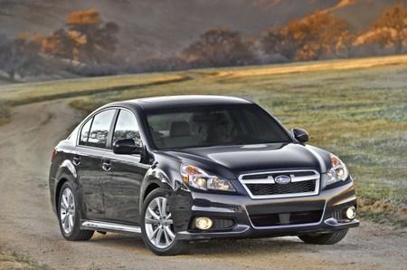 Subaru lava la cara  a sus Legacy y Outback en el Salón de Nueva York