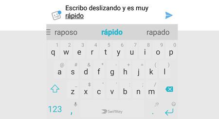 SwiftKey Beta cambia cómo funciona el teclado deslizante para hacerlo más preciso