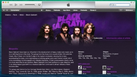 Los padres del Heavy Metal llegan a la iTunes Store, Black Sabbath