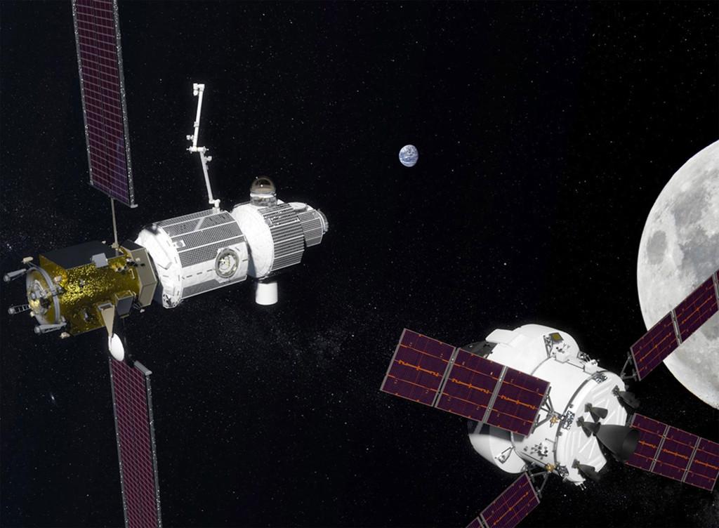 Estacion Espacial Lunar 01