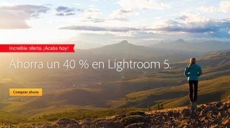 Adobe rebaja un 40% su software Lightroom 5, solo para comprar hoy