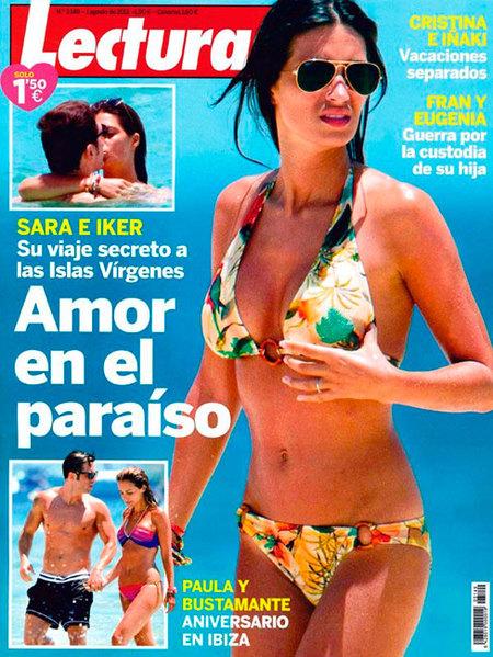 ¡Ya era hora de ver a Sara Carbonero en bikini!