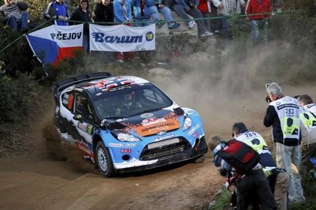 Rally de Cerdeña 2012: los pilotos privados siguen marcando el ritmo