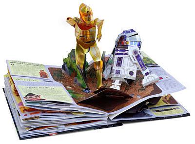 Libro pop-up de Star Wars
